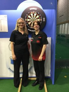 2016-05-07 - BDO World Trophy -  Laura Turner (Surrey) and Rhian Griffiths (Pembrokeshire),